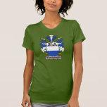 Escudo de la familia de Strangesen Camisetas