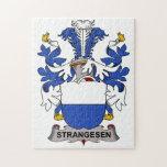 Escudo de la familia de Strangesen Rompecabeza
