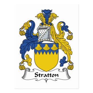 Escudo de la familia de Stratton Postal