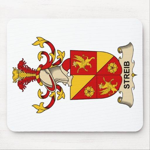 Escudo de la familia de Streib Alfombrillas De Ratón