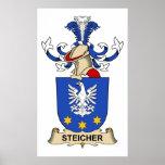 Escudo de la familia de Streicher Poster