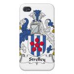 Escudo de la familia de Strelley iPhone 4 Fundas