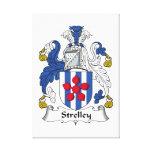 Escudo de la familia de Strelley Impresiones De Lienzo