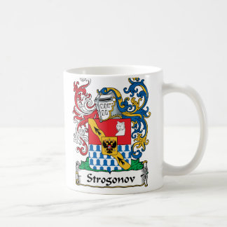 Escudo de la familia de Strogonov Taza