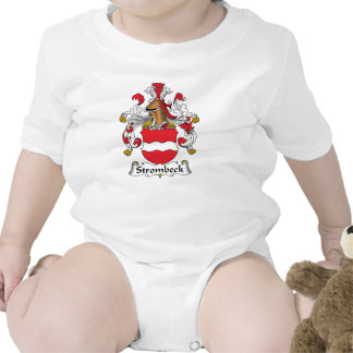 Escudo de la familia de Strombeck Trajes De Bebé