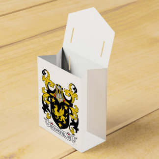 Escudo de la familia de Strongfellow Caja Para Regalo De Boda