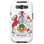 Escudo de la familia de Stronoch Samsung Galaxy S3 Carcasa