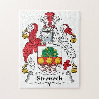 Escudo de la familia de Stronoch Puzzles Con Fotos