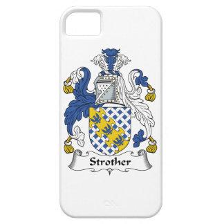 Escudo de la familia de Strother iPhone 5 Case-Mate Funda