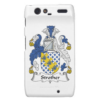Escudo de la familia de Strother Motorola Droid RAZR Carcasa