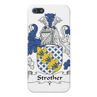 Escudo de la familia de Strother iPhone 5 Coberturas