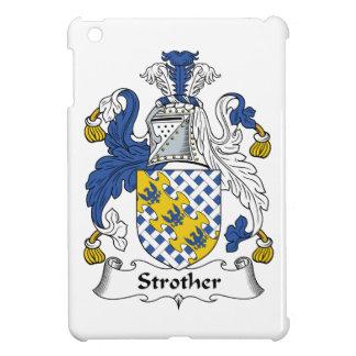 Escudo de la familia de Strother iPad Mini Fundas