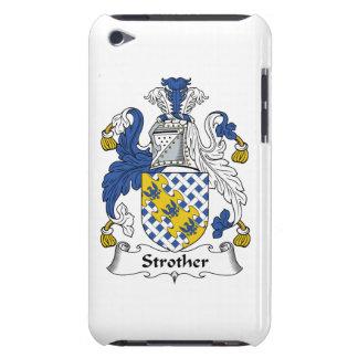 Escudo de la familia de Strother iPod Touch Fundas