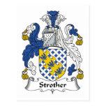 Escudo de la familia de Strother Postal