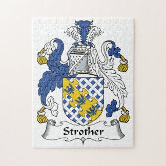 Escudo de la familia de Strother Puzzles