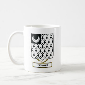 Escudo de la familia de Stroud Taza