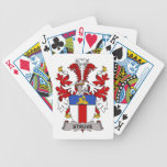 Escudo de la familia de Struve Baraja Cartas De Poker