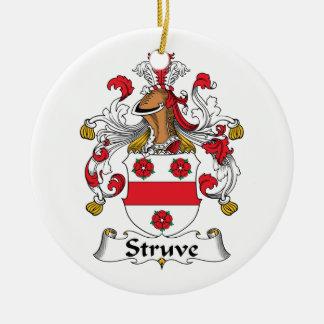 Escudo de la familia de Struve Ornamento De Reyes Magos