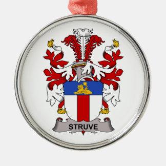 Escudo de la familia de Struve Ornamento Para Reyes Magos