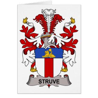 Escudo de la familia de Struve Felicitaciones