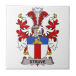 Escudo de la familia de Struve Teja Cerámica