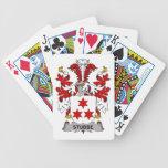 Escudo de la familia de Stubbe Baraja Cartas De Poker