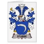 Escudo de la familia de Stubbe Felicitaciones