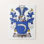 Escudo de la familia de Stubbe Rompecabezas Con Fotos