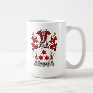 Escudo de la familia de Stubbe Taza De Café