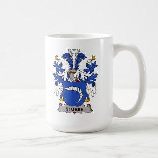 Escudo de la familia de Stubbe Tazas De Café