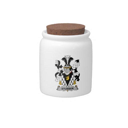 Escudo de la familia de Stubber Platos Para Caramelos