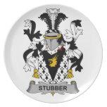 Escudo de la familia de Stubber Platos
