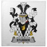 Escudo de la familia de Stubber Servilletas Imprimidas