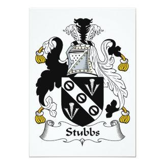 Escudo de la familia de Stubbs Comunicado Personal