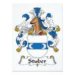 Escudo de la familia de Stuber Anuncio