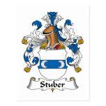 Escudo de la familia de Stuber Postal