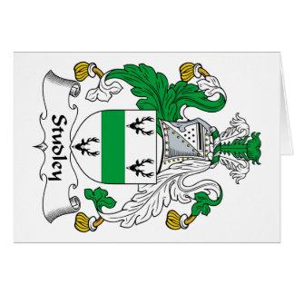 Escudo de la familia de Studley Felicitaciones