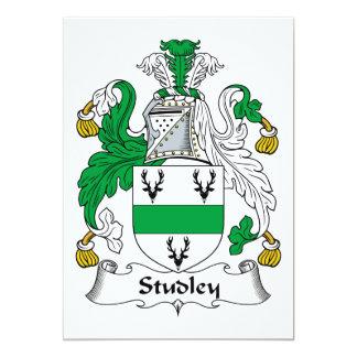 Escudo de la familia de Studley Invitacion Personalizada
