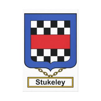 Escudo de la familia de Stukeley Impresión En Lona