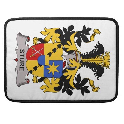 Escudo de la familia de Sture Fundas Para Macbook Pro