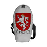 Escudo de la familia de Sturtzel Bolsa Messenger