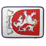 Escudo de la familia de Sturtzel Fundas Para Macbooks