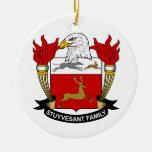Escudo de la familia de Stuyvesant Ornamento Para Arbol De Navidad