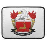 Escudo de la familia de Stuyvesant Funda Macbook Pro