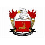 Escudo de la familia de Stuyvesant Postal