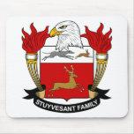 Escudo de la familia de Stuyvesant Alfombrilla De Raton