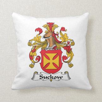 Escudo de la familia de Suckow Almohada