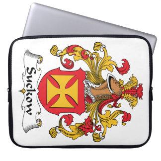 Escudo de la familia de Suckow Funda Portátil
