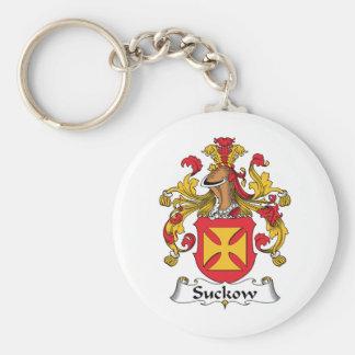 Escudo de la familia de Suckow Llavero