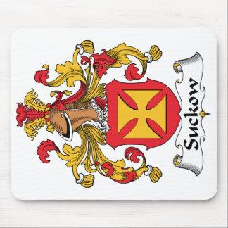 Escudo de la familia de Suckow Tapete De Raton